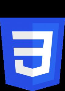 Formateur web, logo CSS3