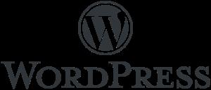 Formateur web, logo WordPress