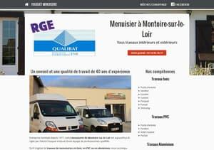 Site Internet Menuiserie Fouquet à Montoire-sur-le-Loir