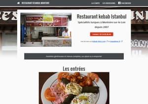 Site du restaurant kebab de Montoire