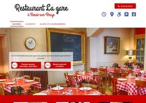 Site du restaurant de La Gare à Bessé-sur-Braye 72310