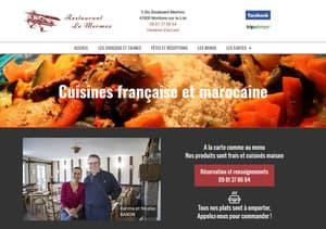 Site Internet du Restaurant Le Mermoz à Montoire 41
