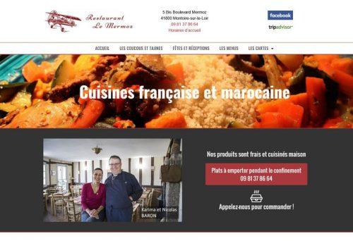 Restaurant Le Mermoz à Montoire
