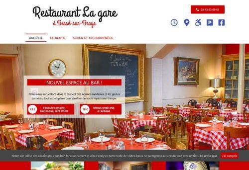 Restaurant de La Gare à Bessé